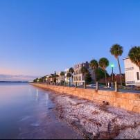 Waterfront, South of Broad, Charleston, South Carolina, USA