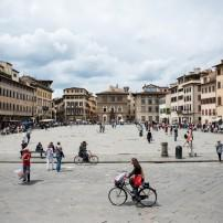 Piazza, Santa Croce, Florence, Italy
