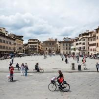 Piazza, Santa Croce, Florence, Italy