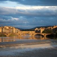 Ponte Santa Trinita, Santa Maria Novella to the Arno, Florence, Italy