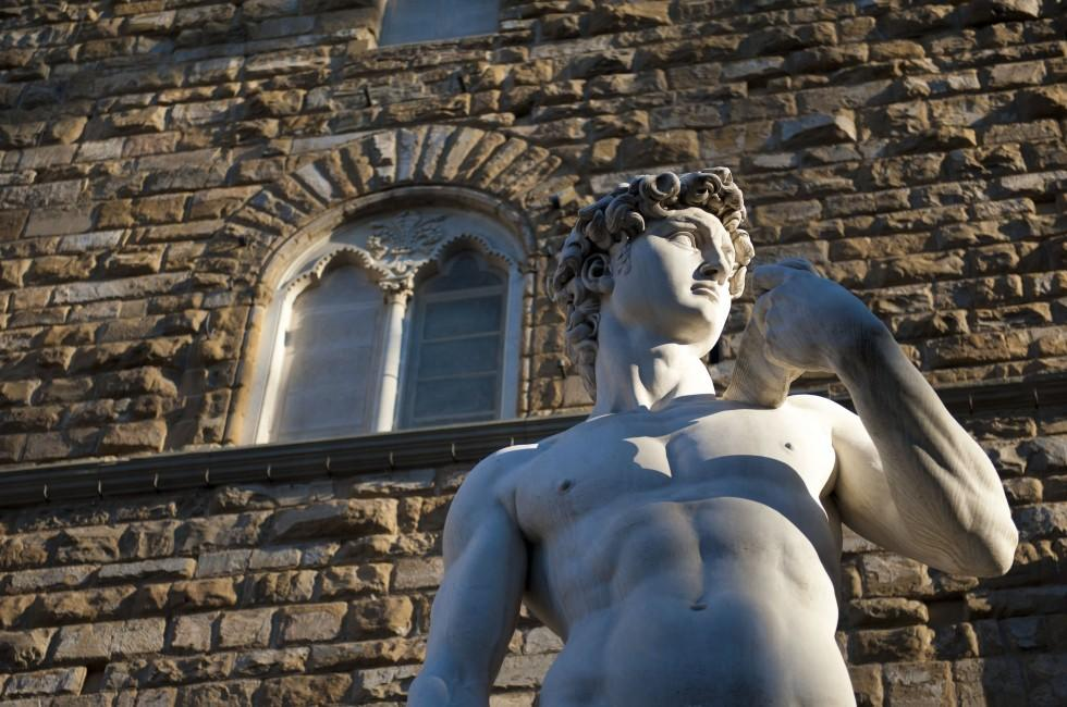 Statue, David, Florence, Italy
