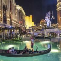 Gondola, The Venetian Resort Hotel & Casino, North Strip, Las Vegas, Nevada, USA