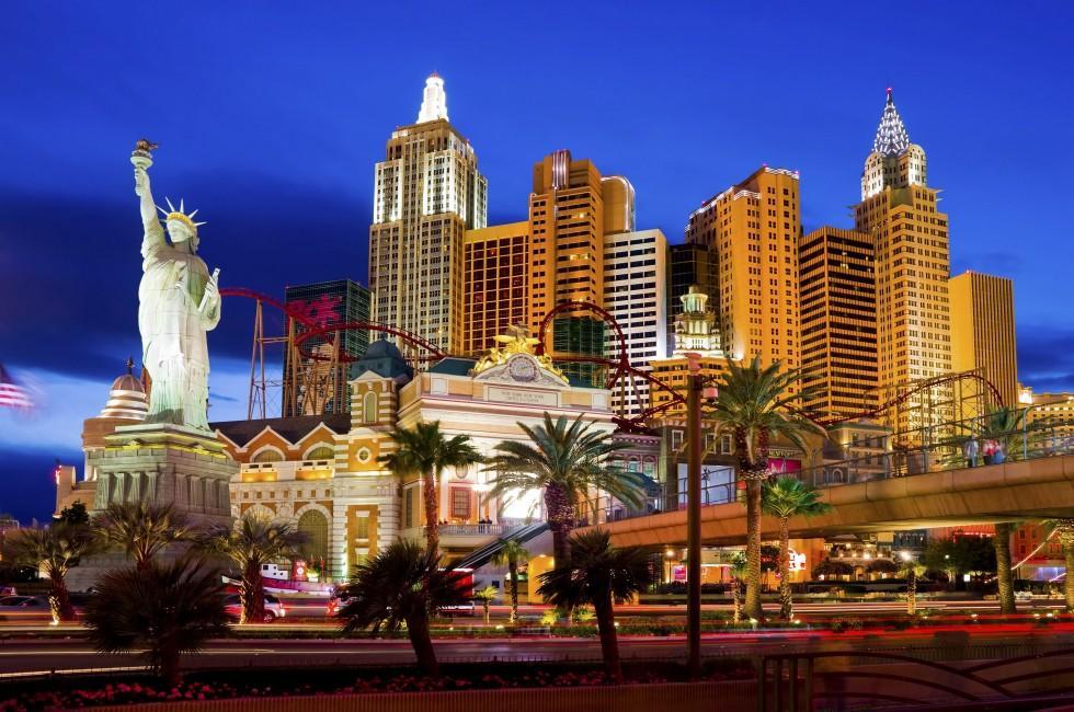 New York-New York, Las Vegas Strip, Las Vegas, Nevada, USA