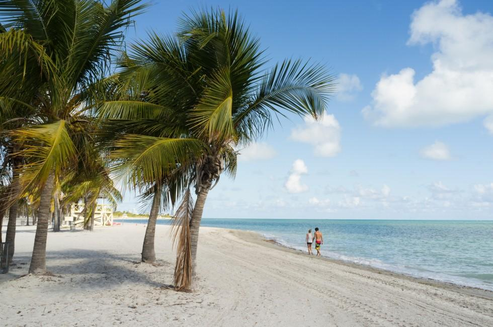 Crandon Park Beach, Key Biscayne, Miami, Florida, USA