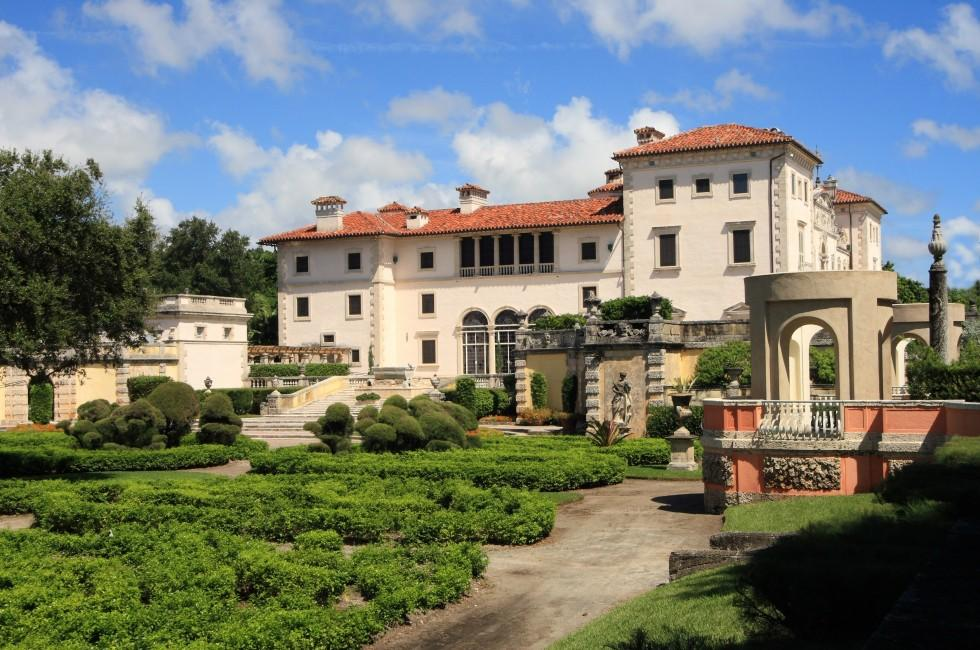 Magnificent Mansion, Vizcaya Museum and Gardens, Miami, Florida, USA