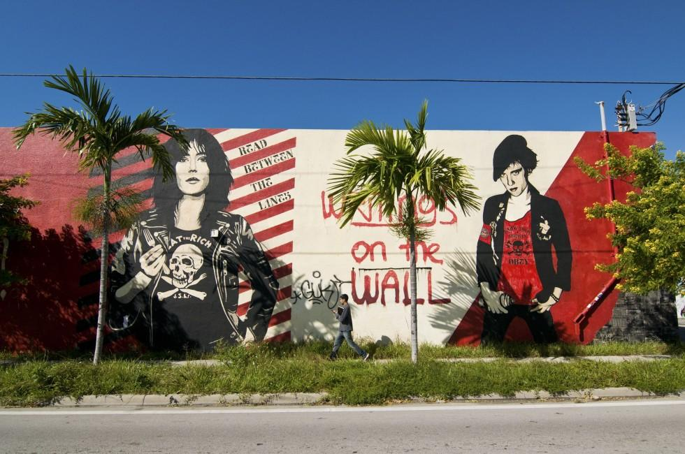 Mural, Wynwood\Midtown\Design District, Miami, Florida, USA