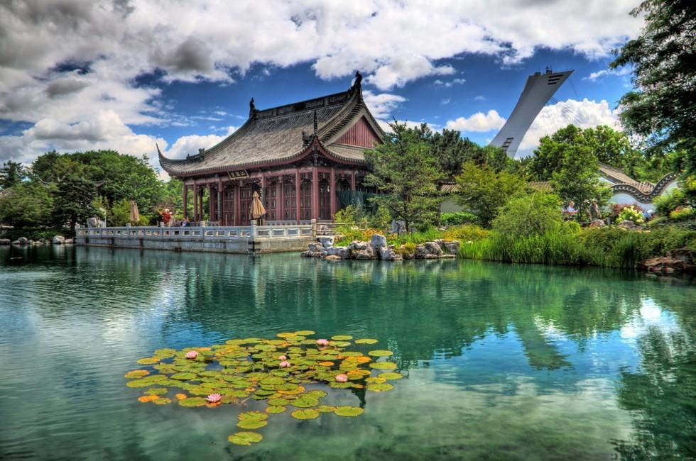 Jardin Botanique, Montreal, Quebec, Canada
