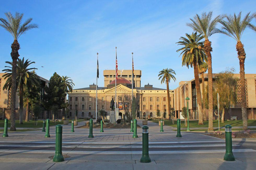 Capitol Building, Arizona State Capitol, Phoenix, Arizona, USA, North America