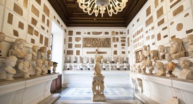 Artifacts, Musei Capitolini, Rome, Italy
