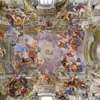 Ceiling, Sant Ignazio, Rome, Italy