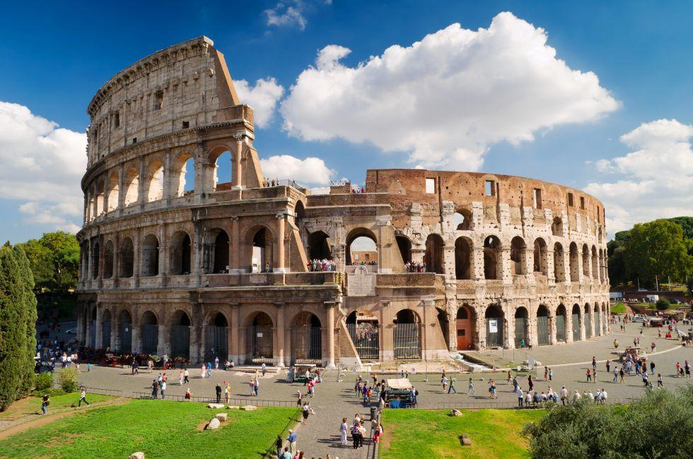 Colosseum, Ancient Rome, Rome, Italy, Europe