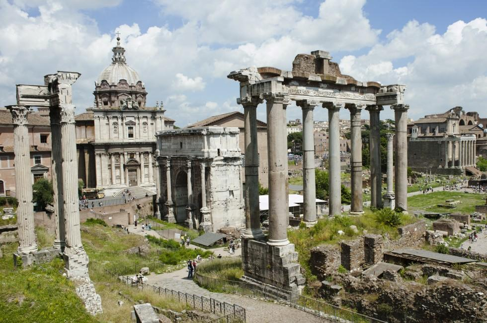 Roman Forum, Ancient Rome, Rome, Italy