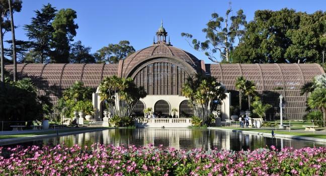 Botanical Building, Balboa Park, San Diego, California, USA