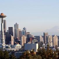 Cityscape, Seattle, Washington, USA