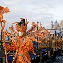 Male Mask at carnival in Venice