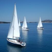 Regatta, Sailboat, Adriatic Sea, Croatia