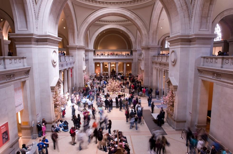 Main Hall, The Metropolitan Museum of Art, Upper East Side, New York City, New York, USA