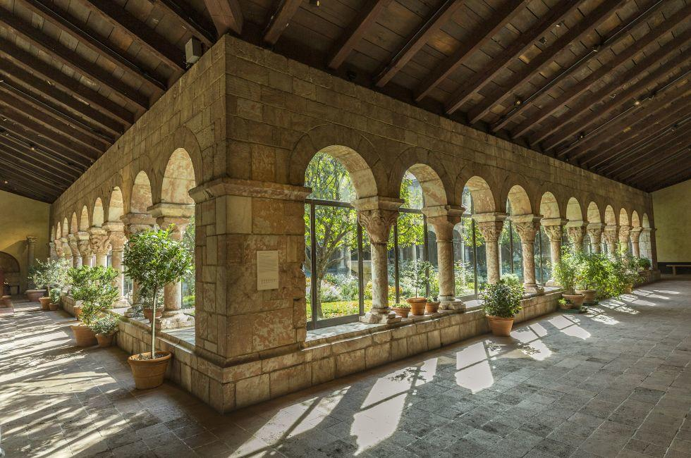 The Cloisters Museum and Gardens, Upper West Side, New York City, New York, USA.