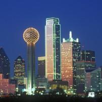 Skyline, Dallas, Texas, USA