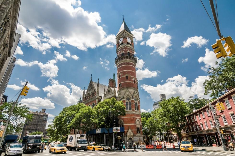 Jefferson Market Library, Greenwich Village, New York City, New York, USA