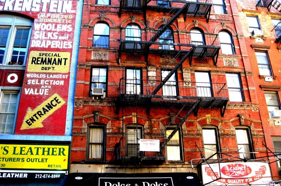Shops, Building, Lower East Side, New York City, New York, USA