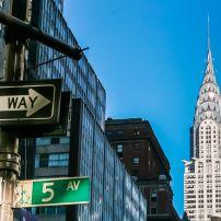 Chrysler Building, Midtown East, New York City, New York, USA.