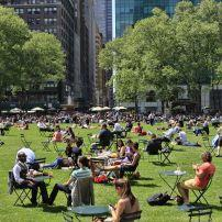 Bryant Park; Midtown West, New York City, New York, USA.