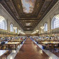 New York Public Library, Midtown West, New York City, New York, USA.
