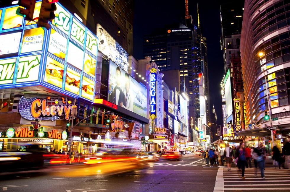 Times Square, Midtown West, New York City, New York, USA