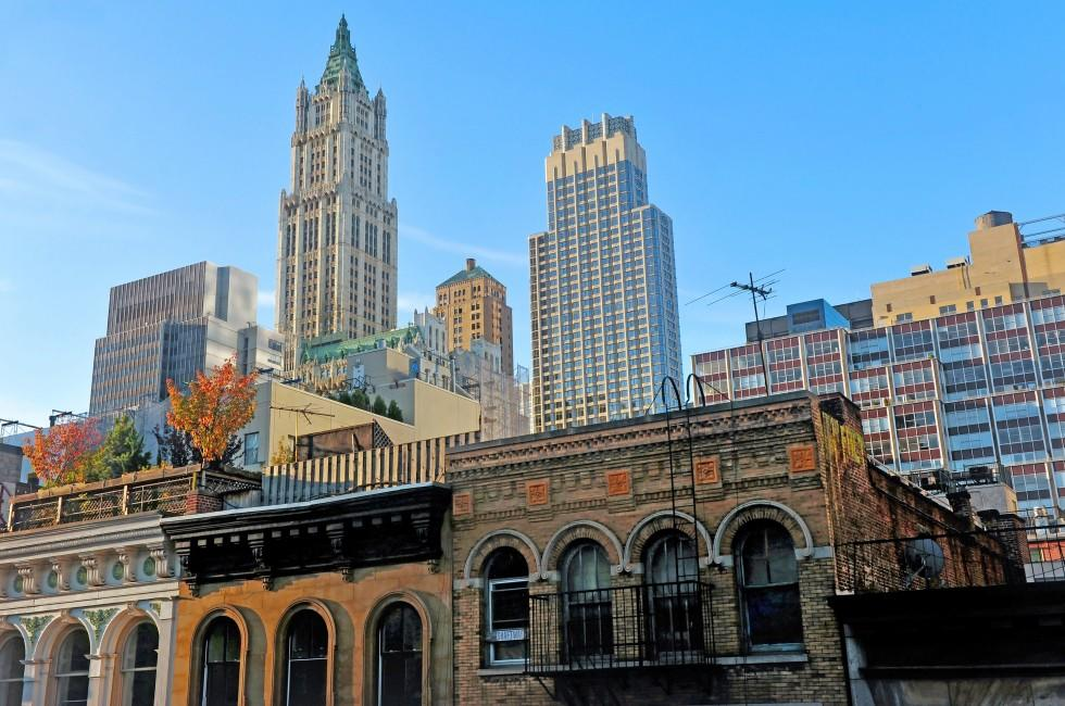 Buildings, TriBeCa, New York City, New York, USA