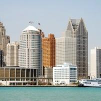 Waterfront, Detroit, Michigan, USA