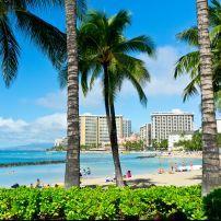 Beach, Honolulu, Honolulu and Oahu, Hawaii, USA, North America