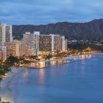 Waikiki, Honolulu, Honolulu and Oahu, Hawaii, USA.