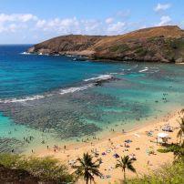 Hanauma Bay, Southeast Oahu, Honolulu and Oahu, Hawaii, USA