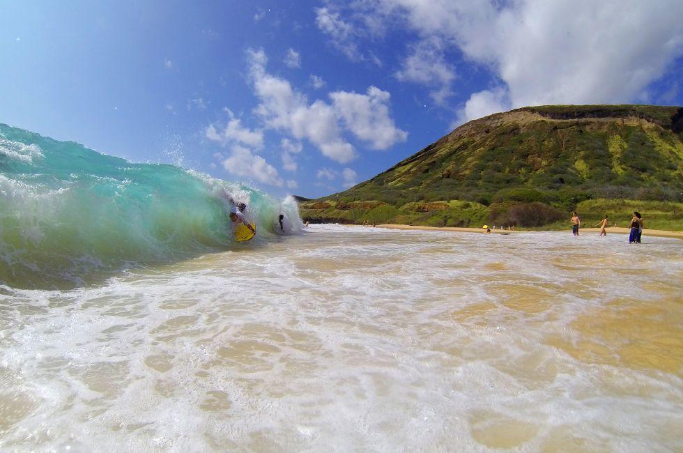 Sandy Beach, Honolulu and Oahu, Oahu, Hawaii, USA