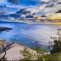 Waimea Bay, North Shore Oahu, Honolulu and Oahu, Hawaii, USA