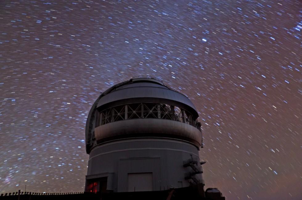 Observatory, Hawaii Forest and Trail, Kailua-Kona, Big Island, Hawaii, USA