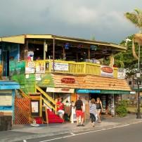 Restaurant, Kailua-Kona, Big Island, Hawaii, USA