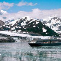 Cruise ship, Yakutat Bay, Alaska, USA, North America