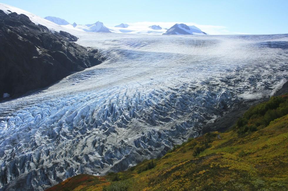 Exit Glacier, Kenai Peninsula, Prince WIlliam Sound, And Homer, Alaska, USA