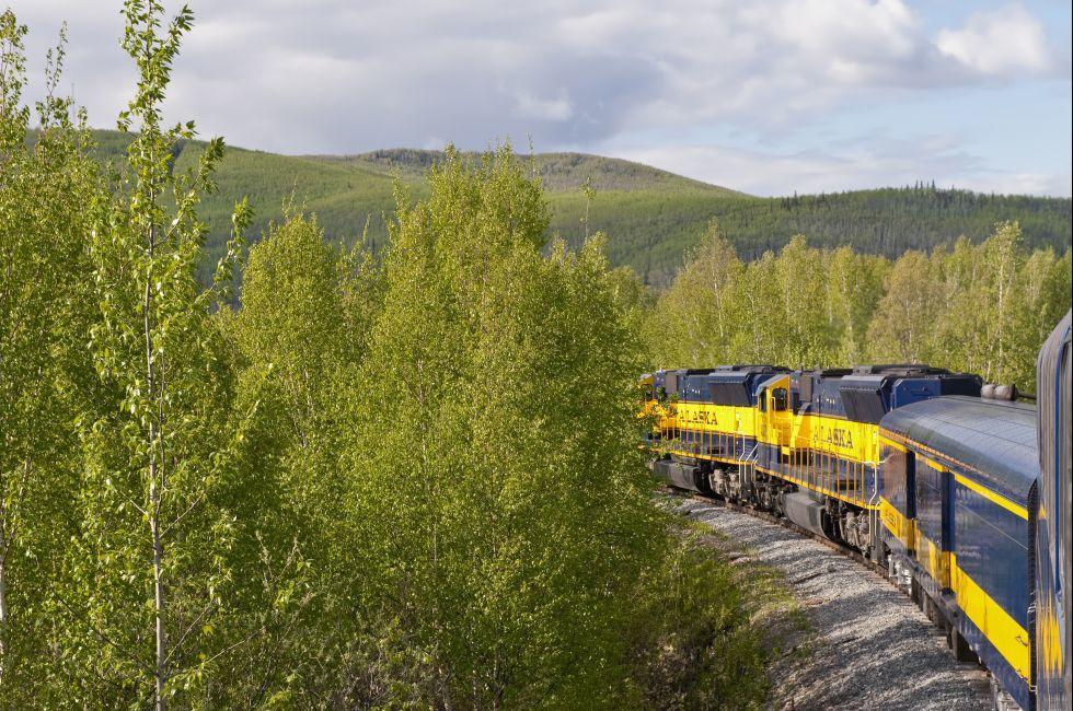 Denali Star Train, Denali National Park, Alaska