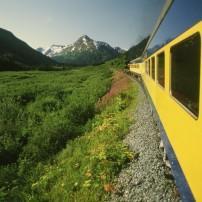 Train to Denali, Alaska