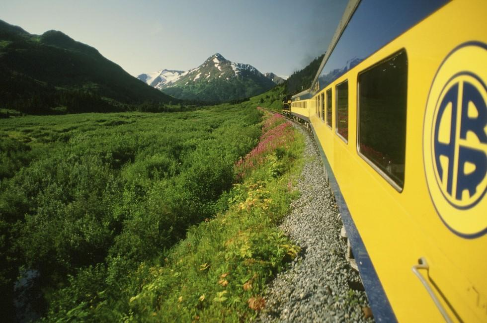 Train to Denali, Alaska
