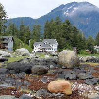 Houses, Landscape, Petersburg, Alaska, USA