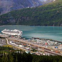 Cruise Ship, Whittier, Alaska