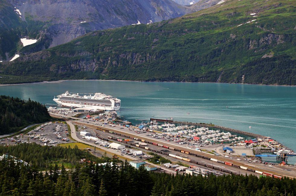 Cruise Ship, Whittier, Alaska