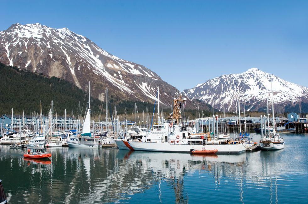 Boats, Marina, Seward, Alaska
