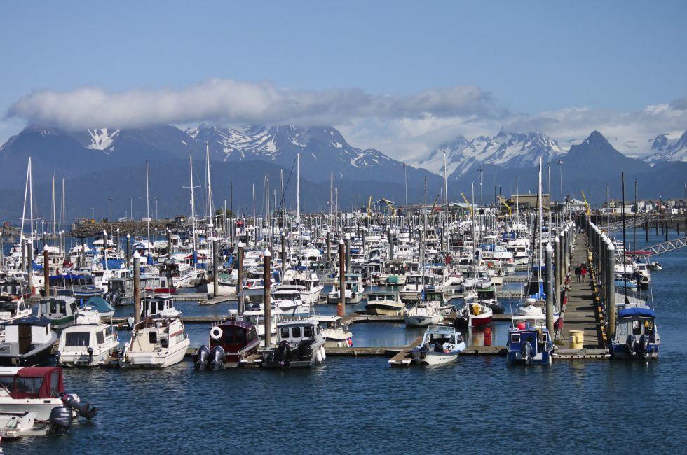 Boats, Marina, Homer, Alaska