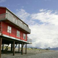 House on Stilts, Homer, Alaska