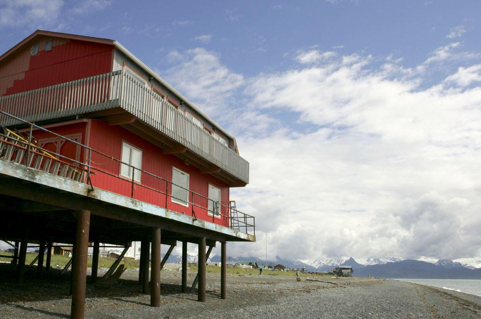 House on Stilts, Homer, Alaska
